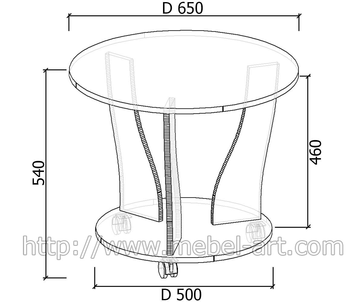Столик из дсп своими руками чертеж 367