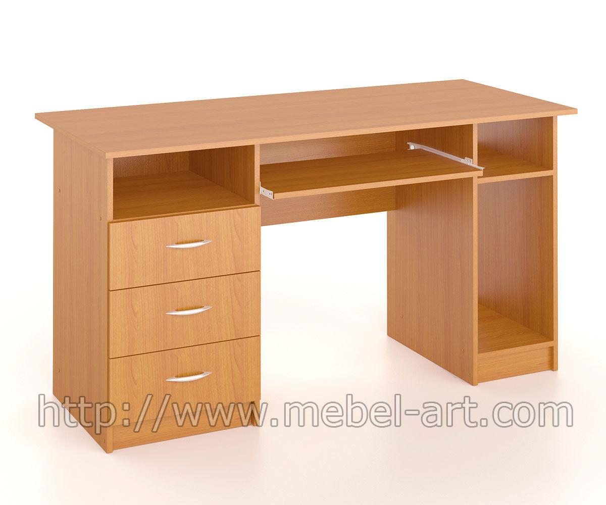 Стол компьютерный ск-004 - мебель-арт (николаев) - столы и н.